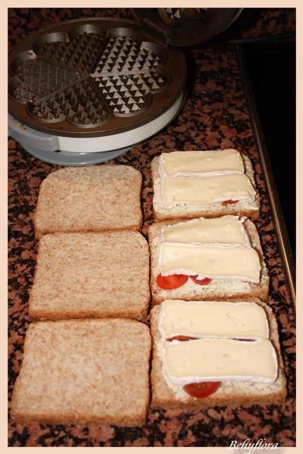 Belegte Toasts