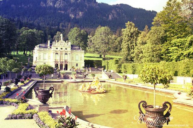Das bayerische Schloss Linderhof