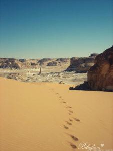 Wandern in der Weißen Wüste ist ein tolles Erlebnis