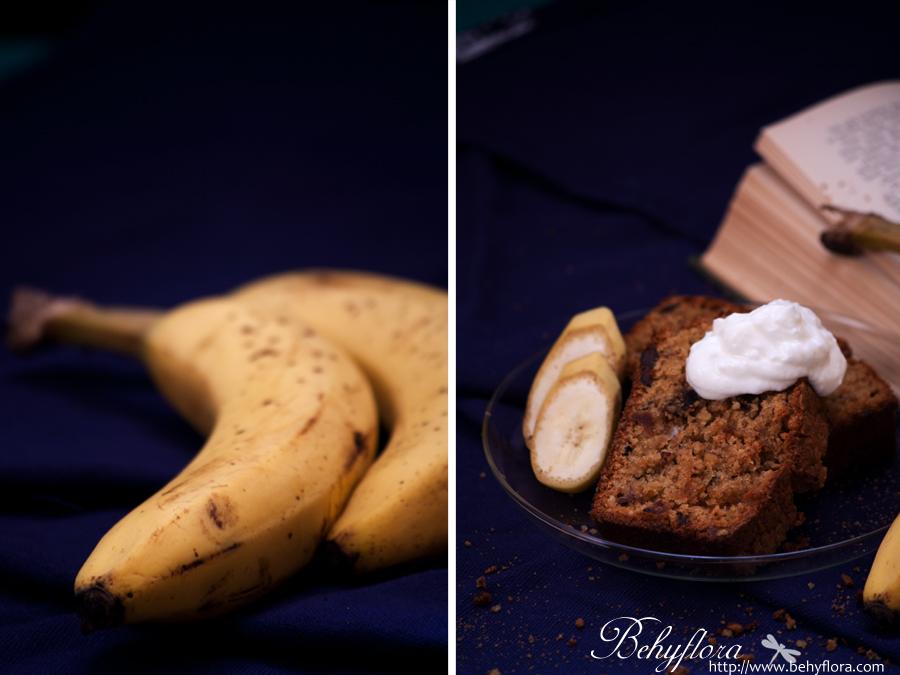Was gibt es besseres als warme Aromen vom Bananenkuchen an einem verregneten Nachmittag.