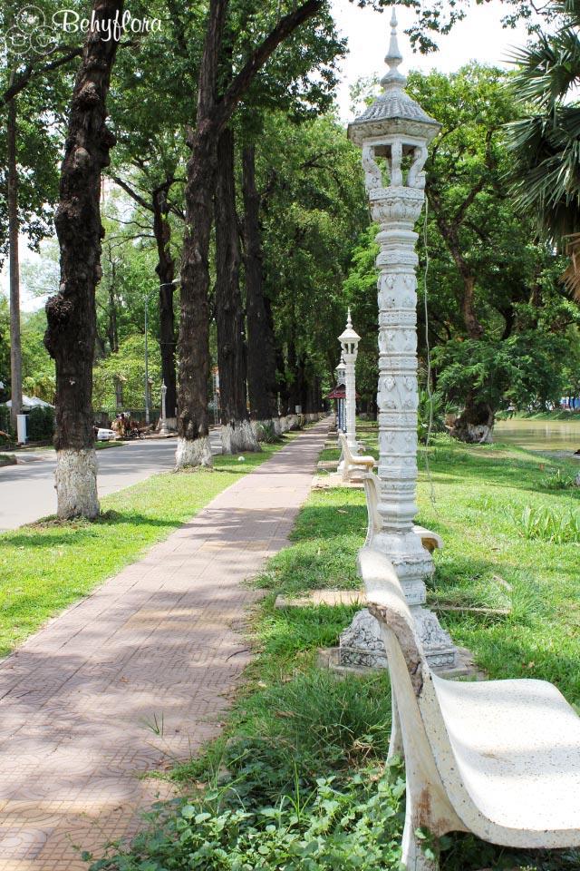 Der Boulevard in Siem Reap