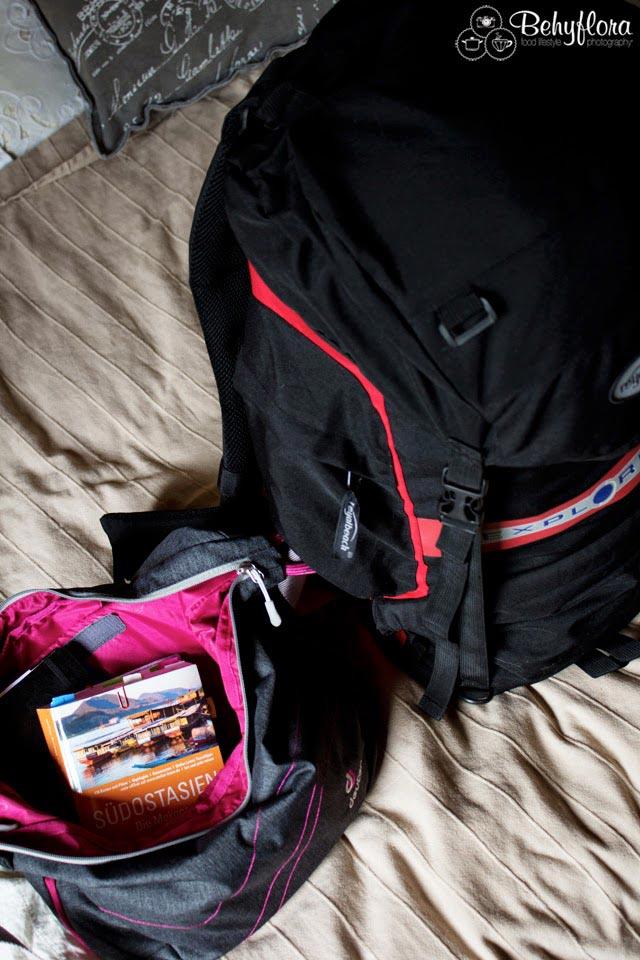 Dieser Rucksack reicht vollkommen bei der durchdachten Backpacking-Liste