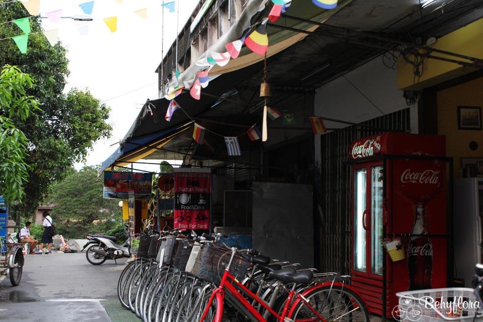 Auch mit dem Fahrrad kannst du in  in Asien Mobil bleiben