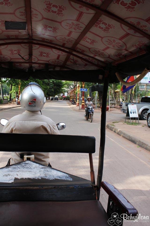 Tuktuks bringen dich zuverlässig von A nach B