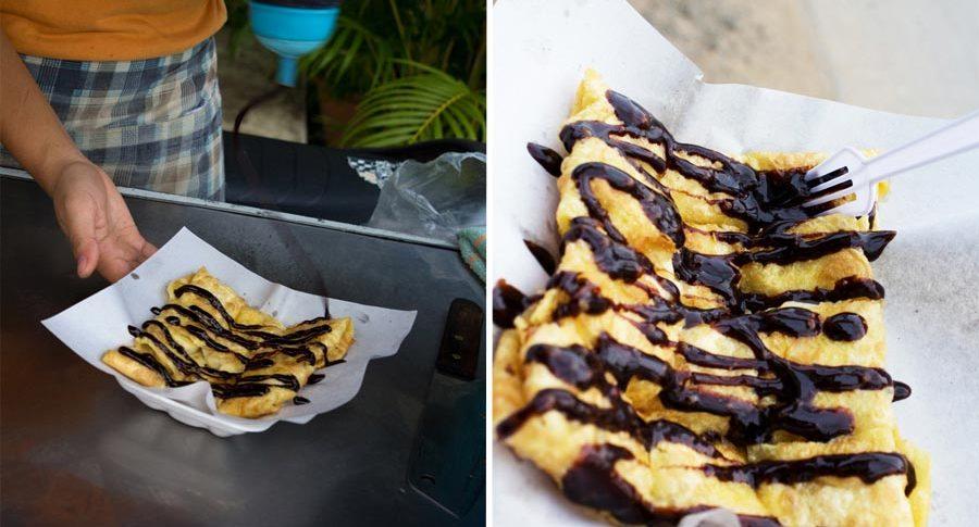 Thailändische Roti Pancakes haben mich verzaubert