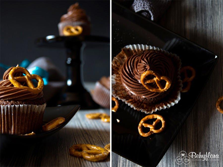 Diese Salzbrezel-Cupcakes musst du probieren