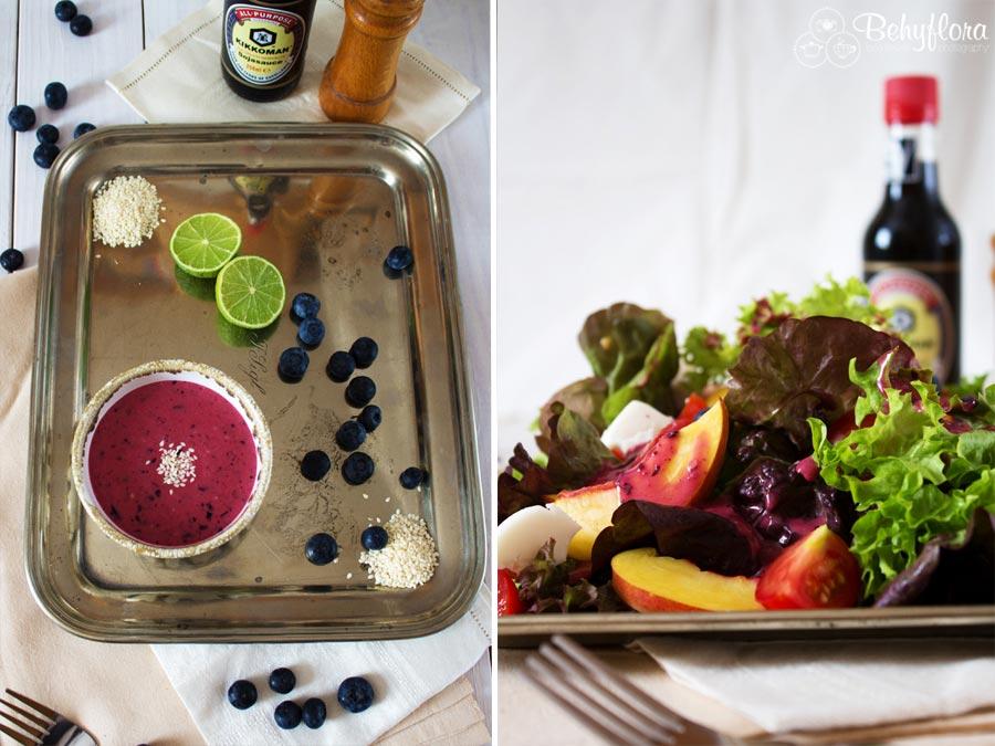 Salatdressing peppte jeden Salat auf eigene Art auf
