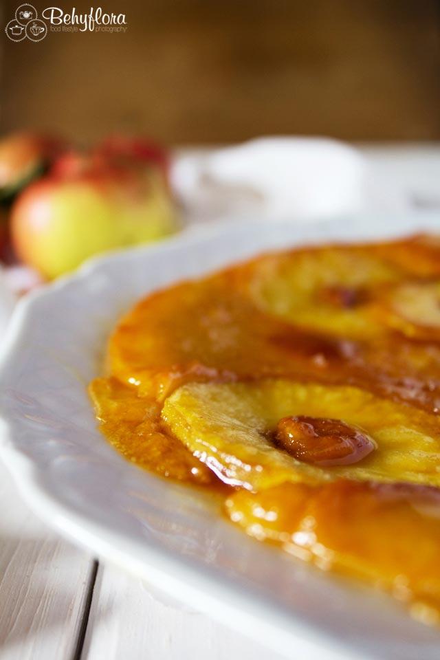 Upside-Down Apfelpfannkuchen