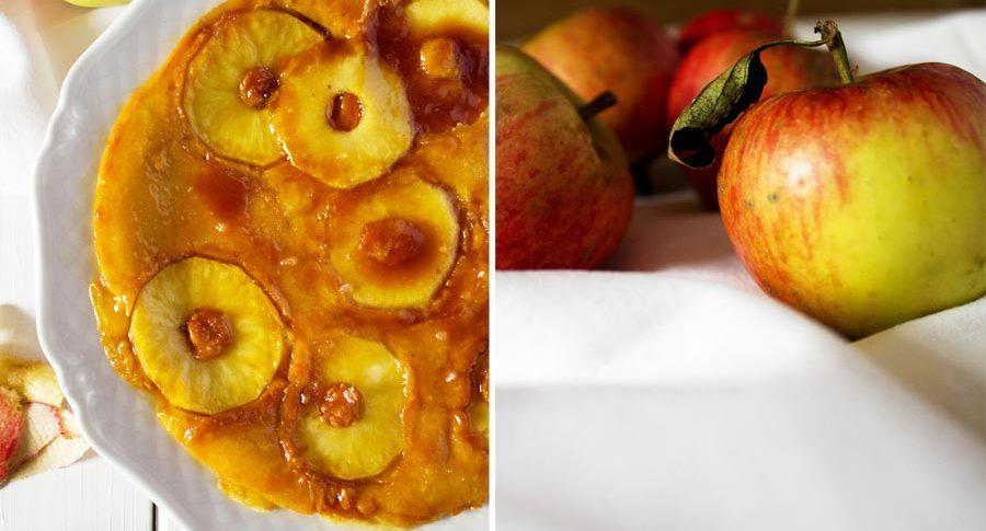 Apfelpfannkuchen statt Hirse - Yay!