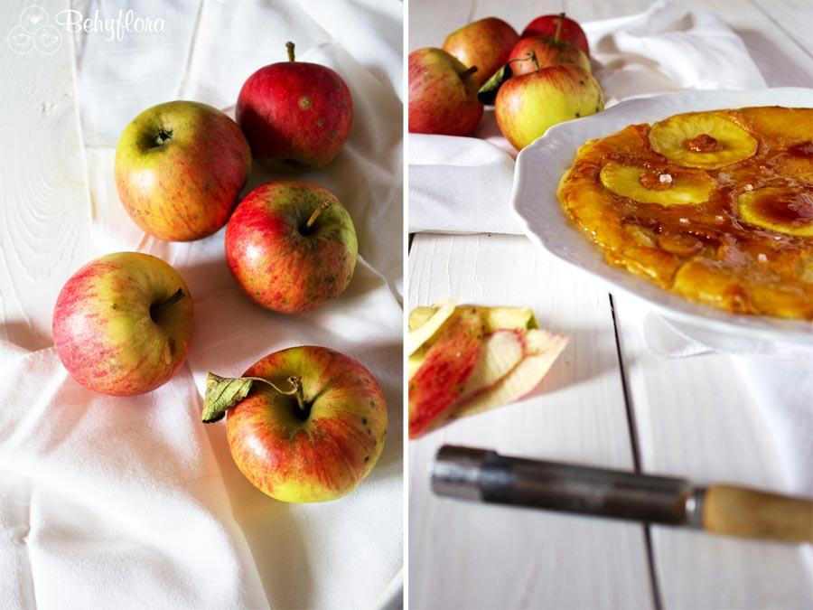 Besser kann man Äpfel nicht verwerten - Apfel-Karamell-Pfannkuchen