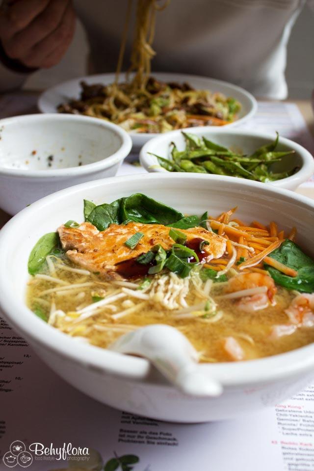 Auch die Ramen Suppe hat uns begeistert