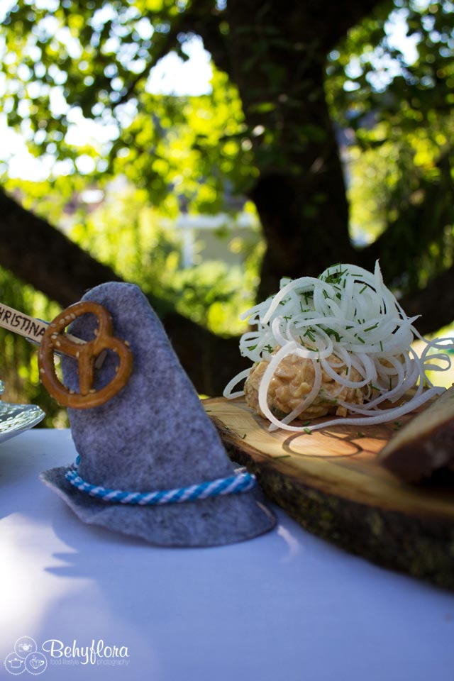 Obadtzda und Rettich passen perfekt zur bayerischen Brotzeit