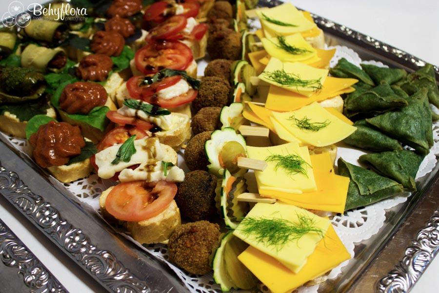 Veganes Fingerfood beim Erben Winzerfest