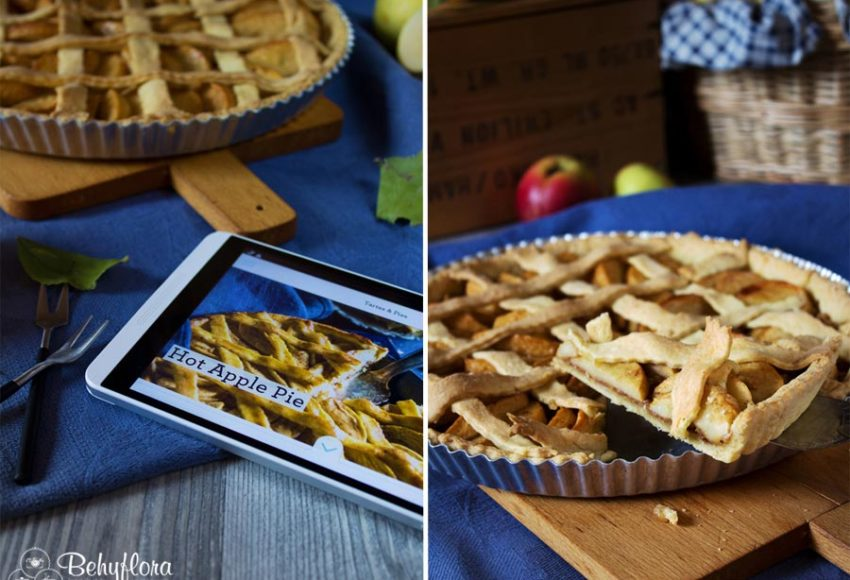 Hot Apple Pie nach der Simply Yummy App von Sweet Paul