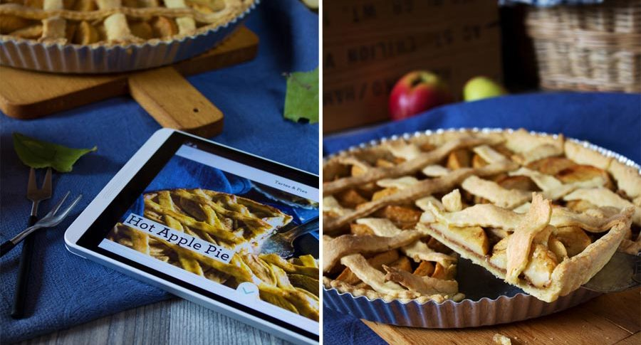 Hot Apple Pie nach der Simply Yummy App von Sweet Paul