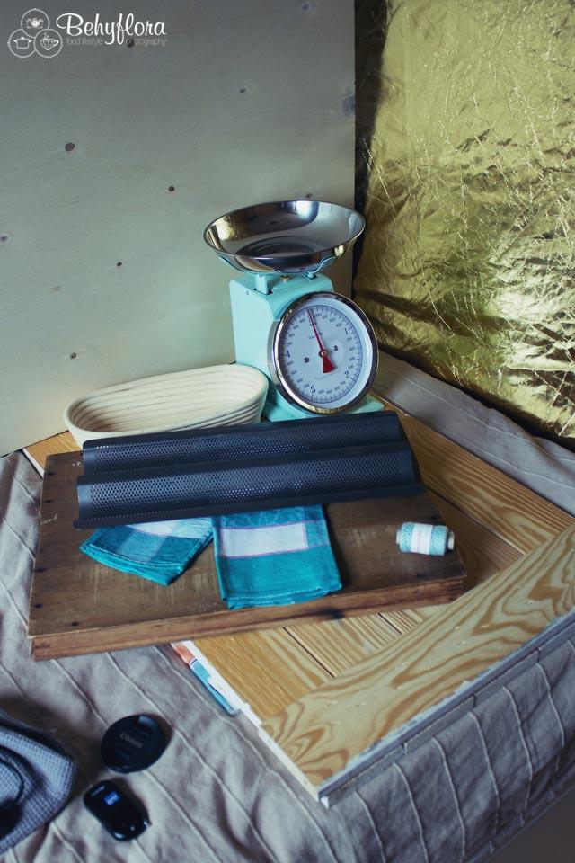 Fotoset-Aufbau für Ciabatta