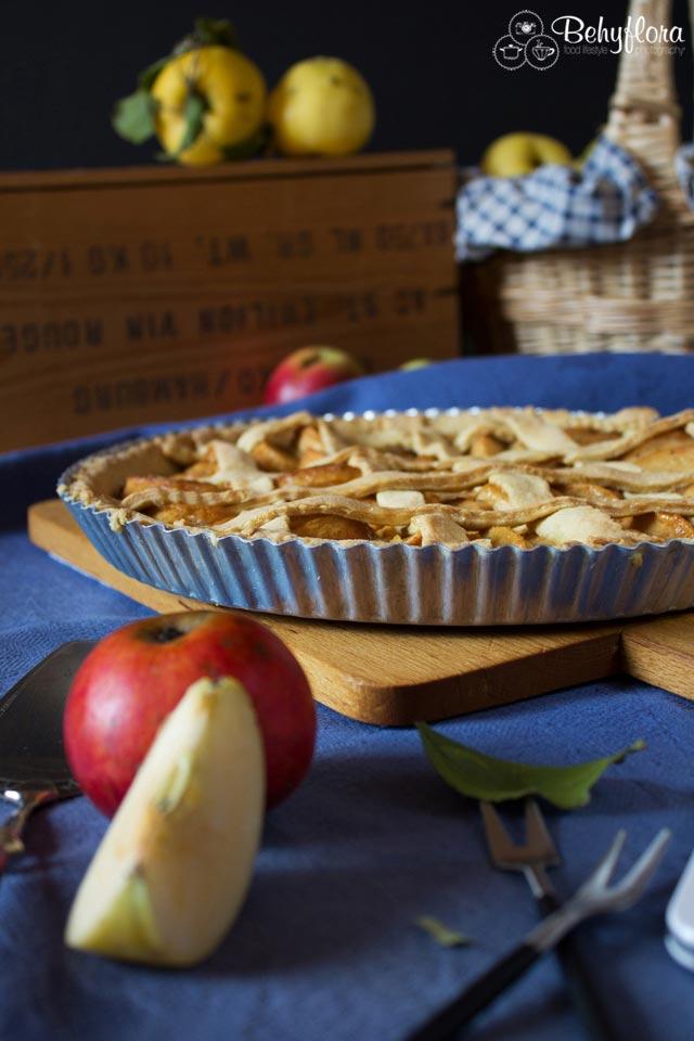 Apfelkuchen im Herbst ist ein Gedicht