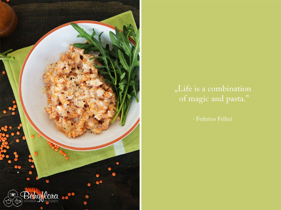Life is a combination of magic and pasta