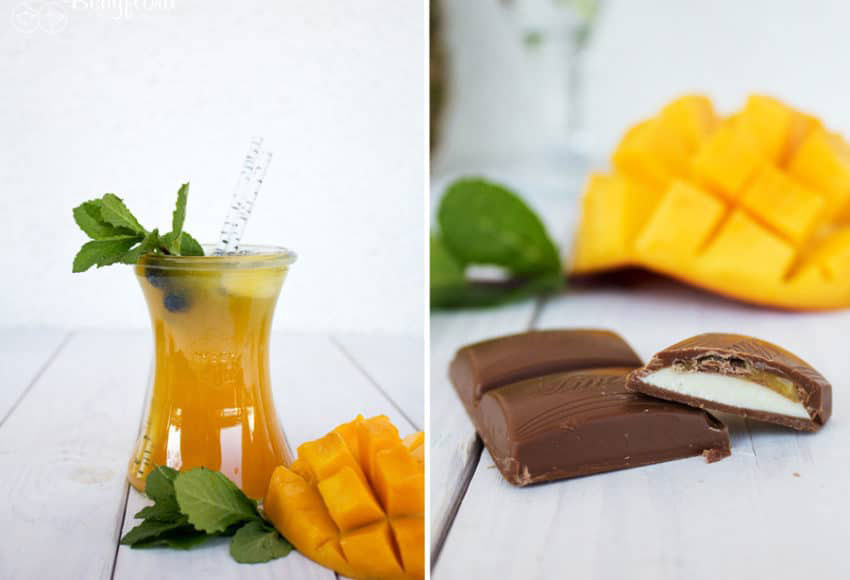 Mango-Maracuja in den Sommercocktails