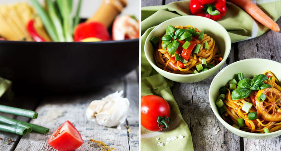 Leckere One Pot Pasta im Curry Style