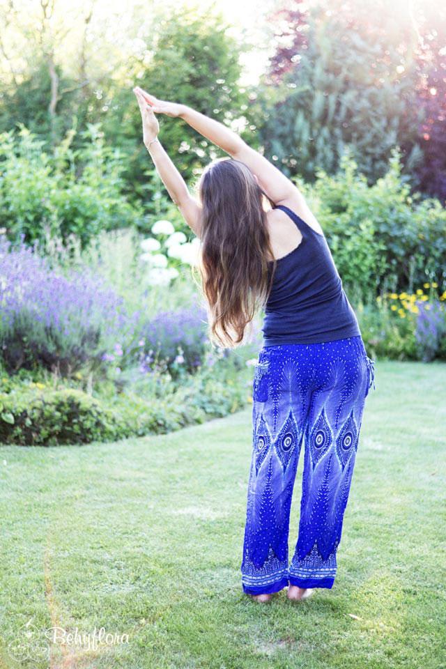 Die Yoga Flankenstreckung
