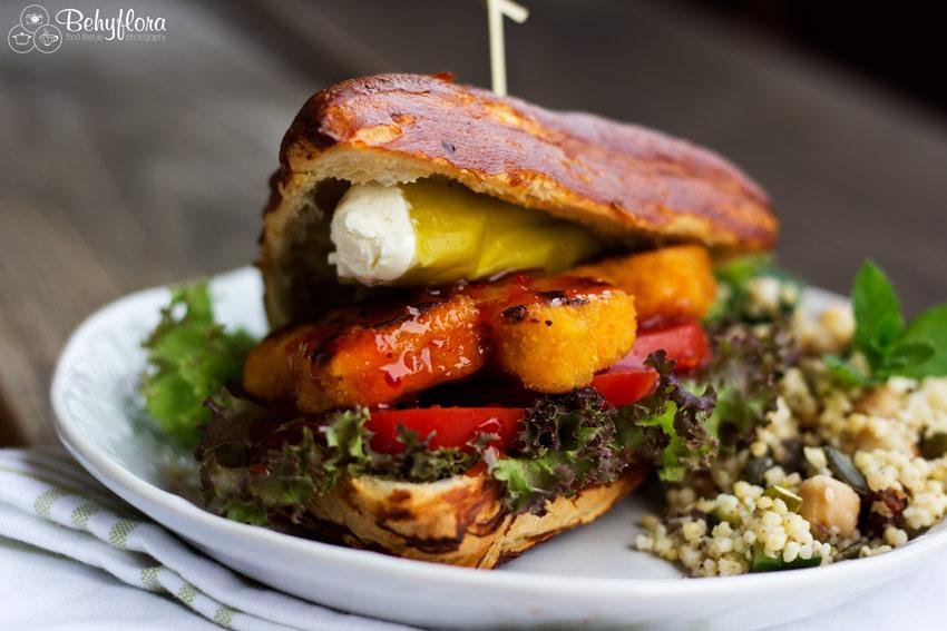 Perfekte Begleitung zum Burger: Hirse-Salat