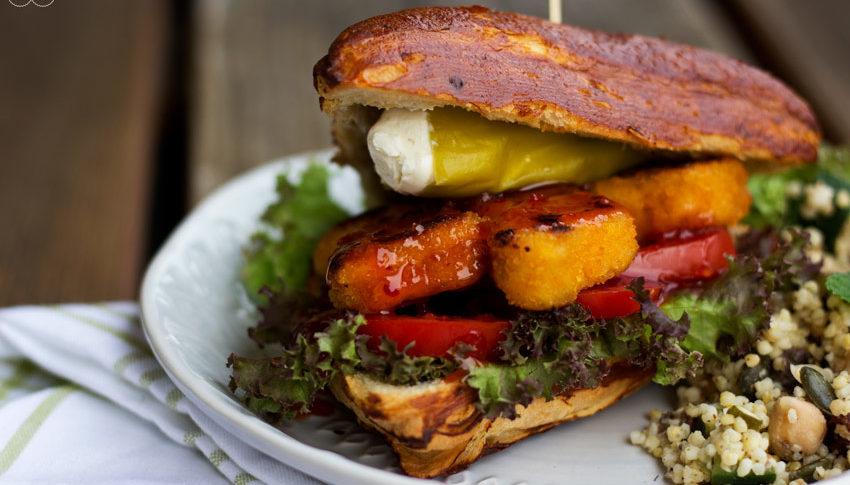 Zum Feierabend gibt es bei mir ein einfaches Veggie Burger Rezept.