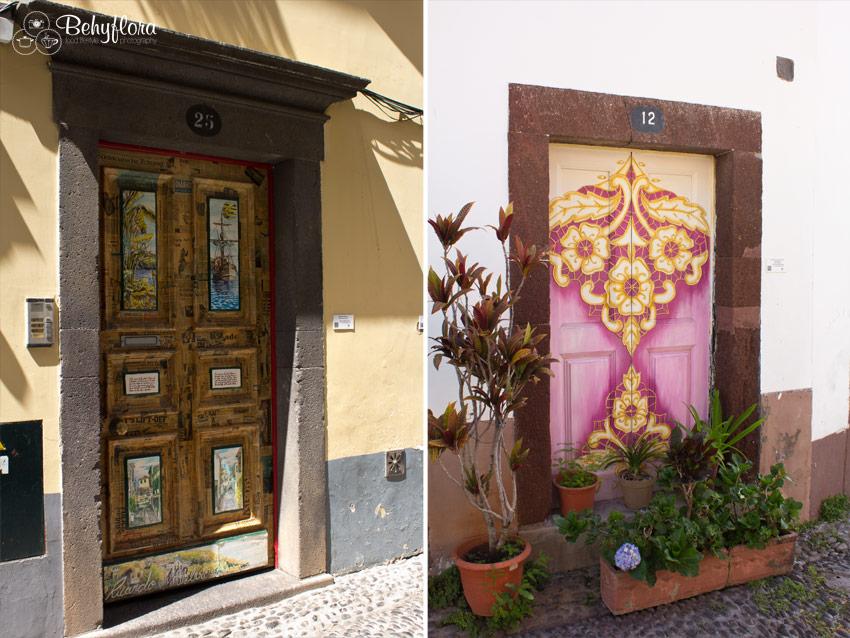 Das Künstlerviertel mit seinen verzierten Türen