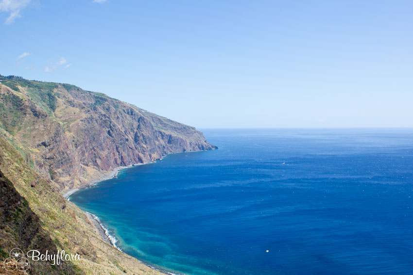 Die Aussicht vom Leuchtturm Ponta Pargo in Madeira