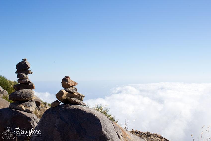 Wolken kitzeln in Madeira