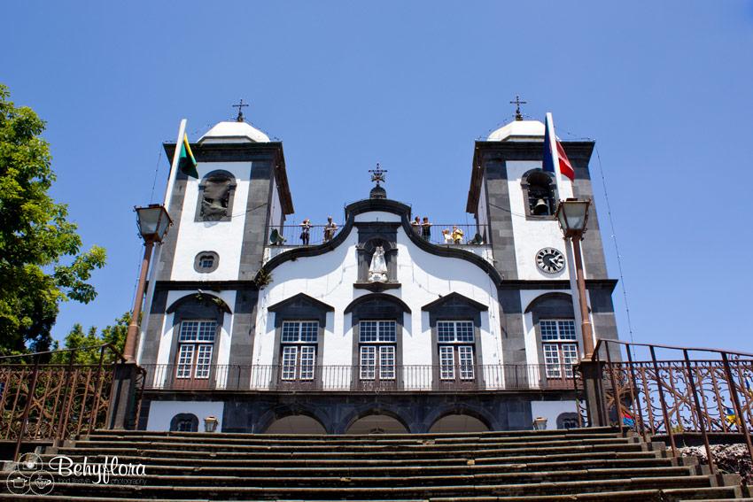 Die Kirche Nossa Senhora do Monte