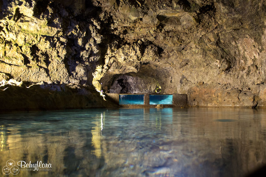 Der Lava-Tunnel ist jetzt mit Wasser gefüllt