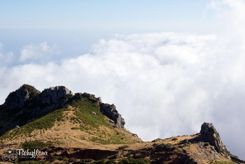 Vom Paul da Serra ins Tal blicken ist nicht immer möglich