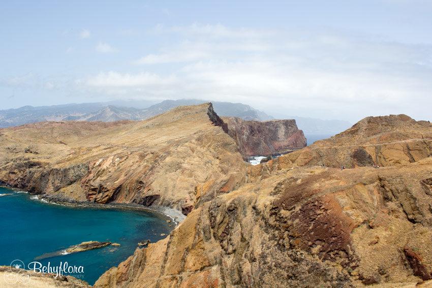 Von Sao Lourenco kann man fast die ganze Insel Madeira sehen.