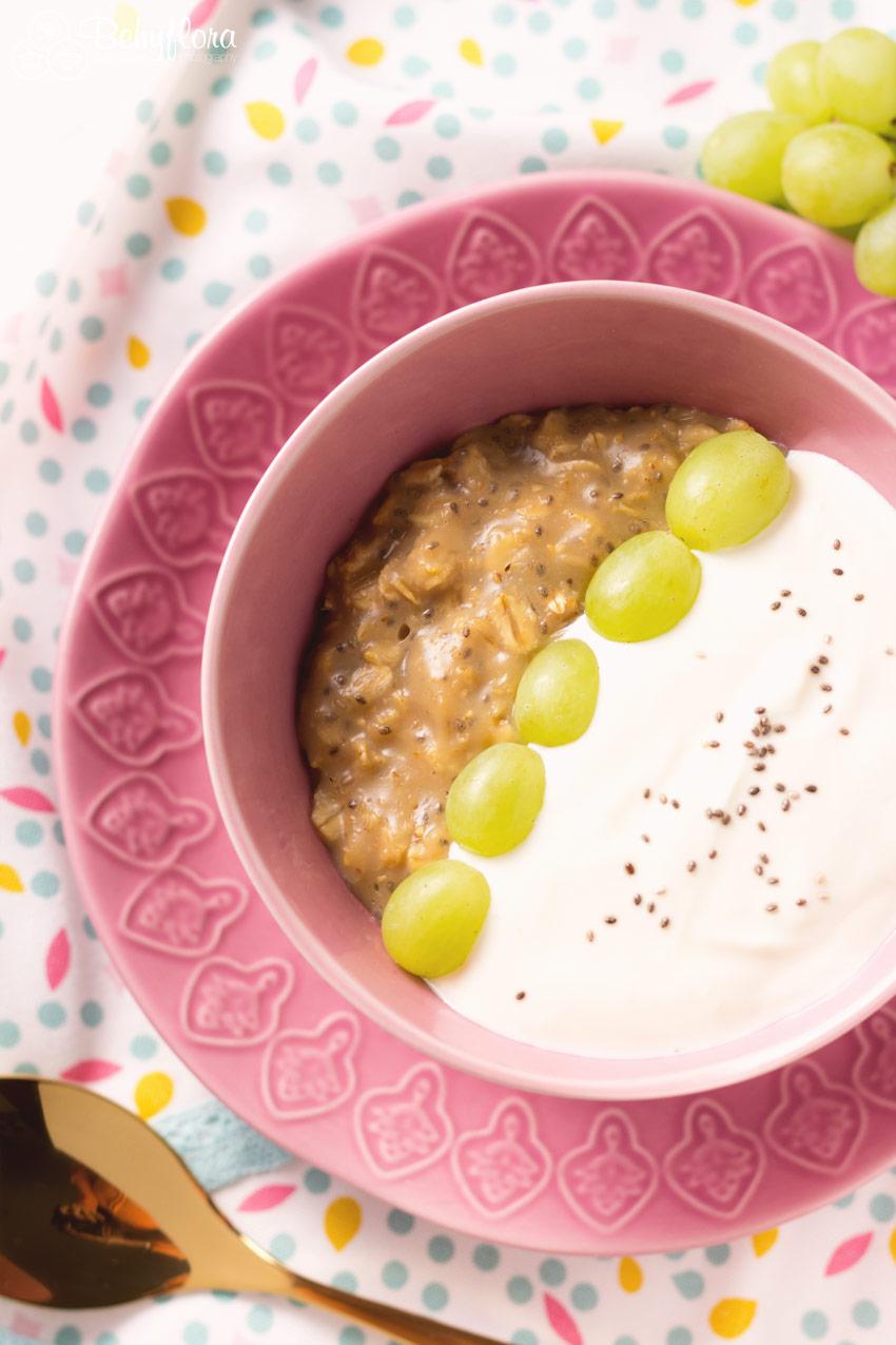 leckeres Overnight Frühstück - Haferflocken Pudding