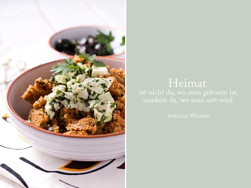 türkische Weisheit - Essen