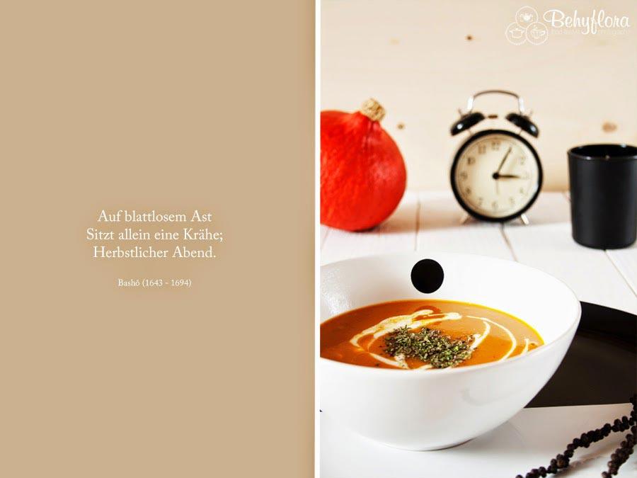 Basho - Herbst - Kürbissuppe