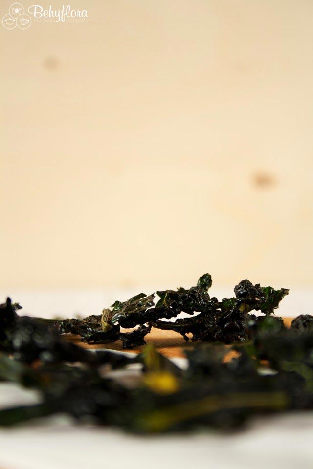 Kale Chips als gesunder Snack