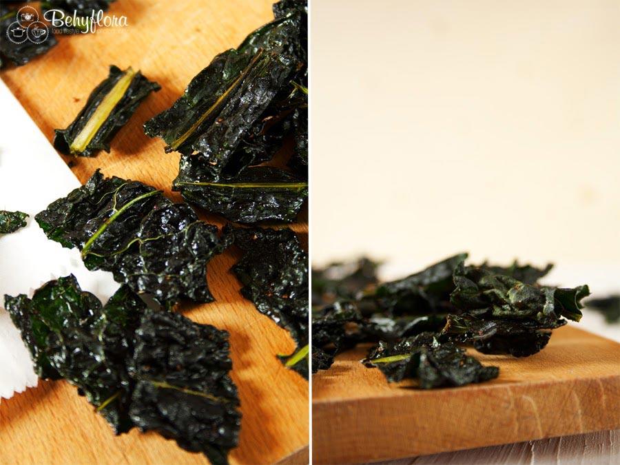 Knusprig - Fein - So müssen Kale Chips sein