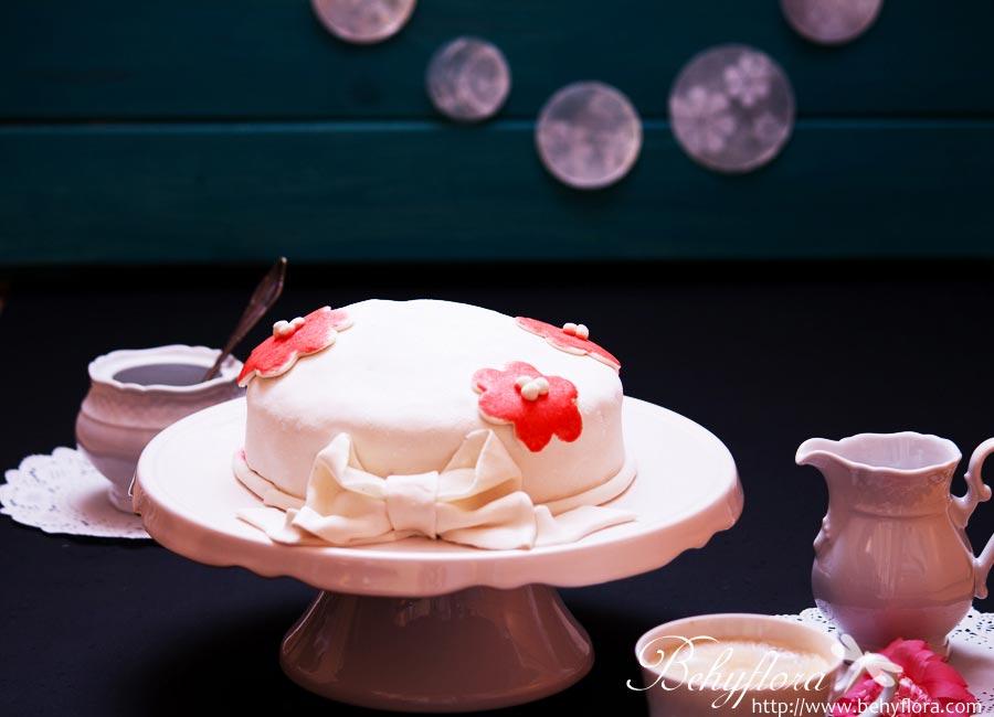 Marshmallow-Fondant -Torte