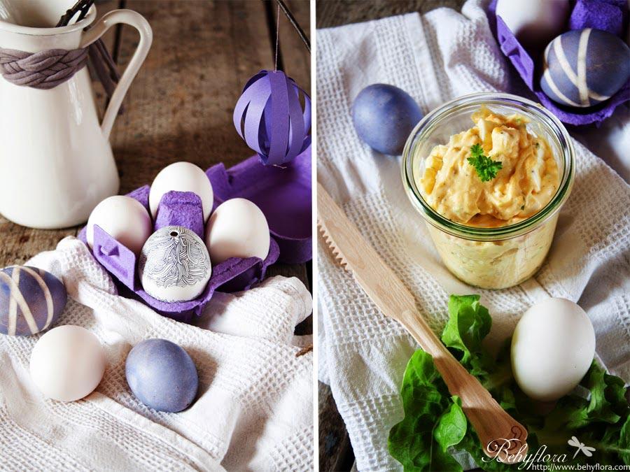 Eiersalat für das Oster-Sandwich