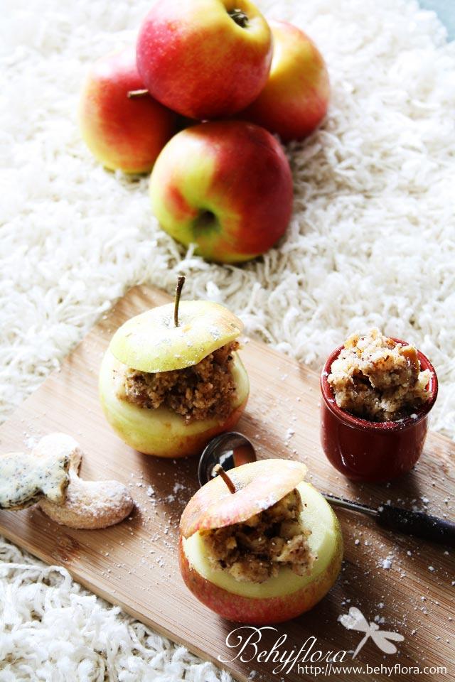 gefüllter Bratapfel mit Käse
