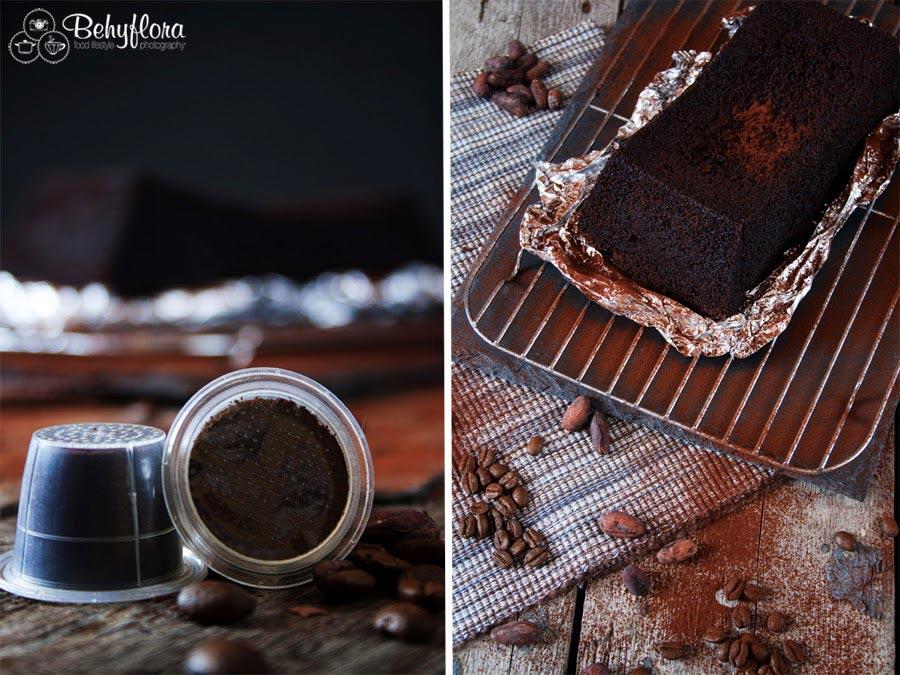 Kaffekapselund Olivenölkuchen mit Schokolade