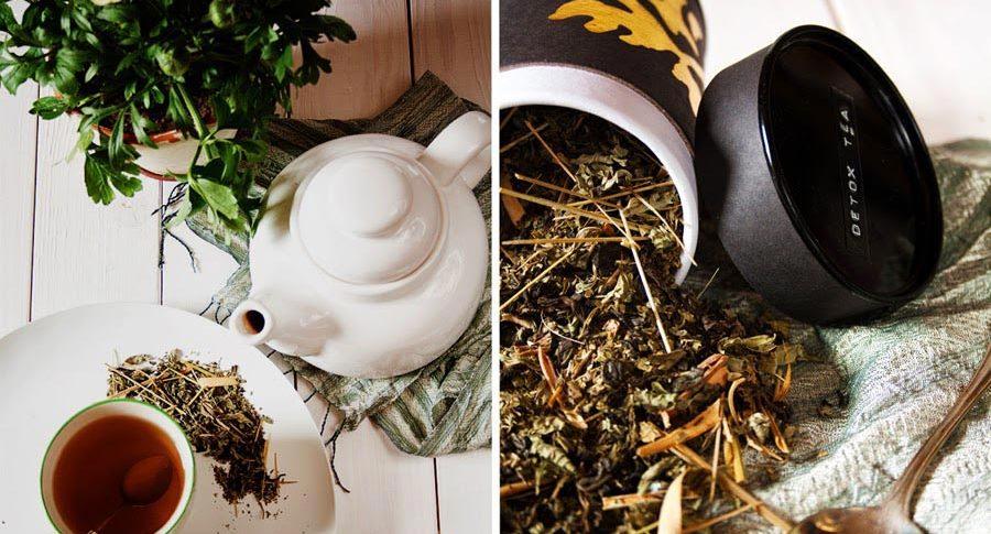 detox tee selbst machen teemischung knusprig fein futter f r geist und k rper. Black Bedroom Furniture Sets. Home Design Ideas