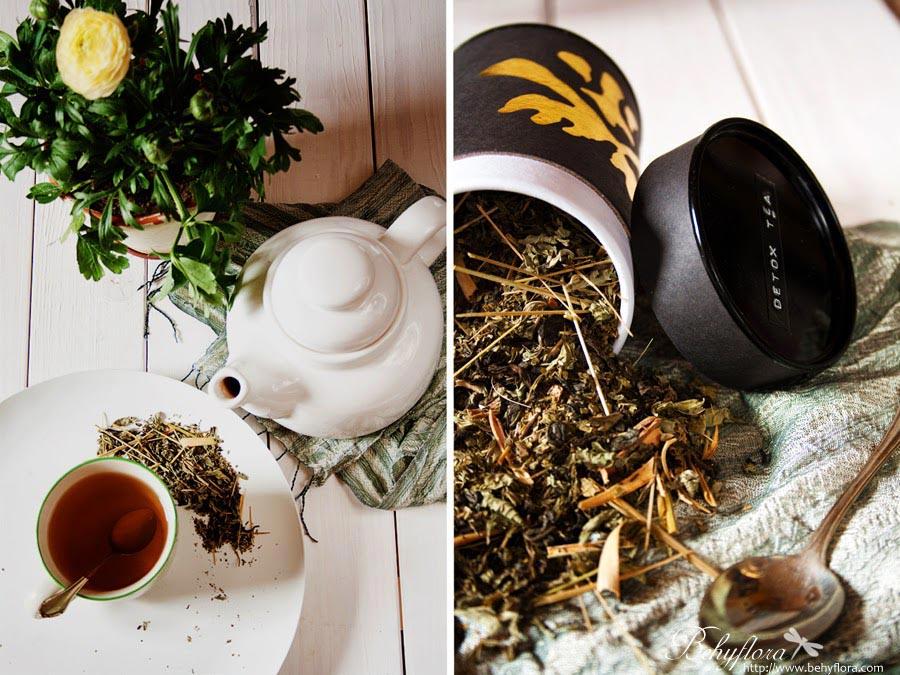 Detox Tee selbst machen - Teemischung