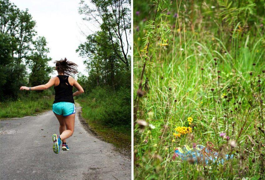 Laufen und Fliegen