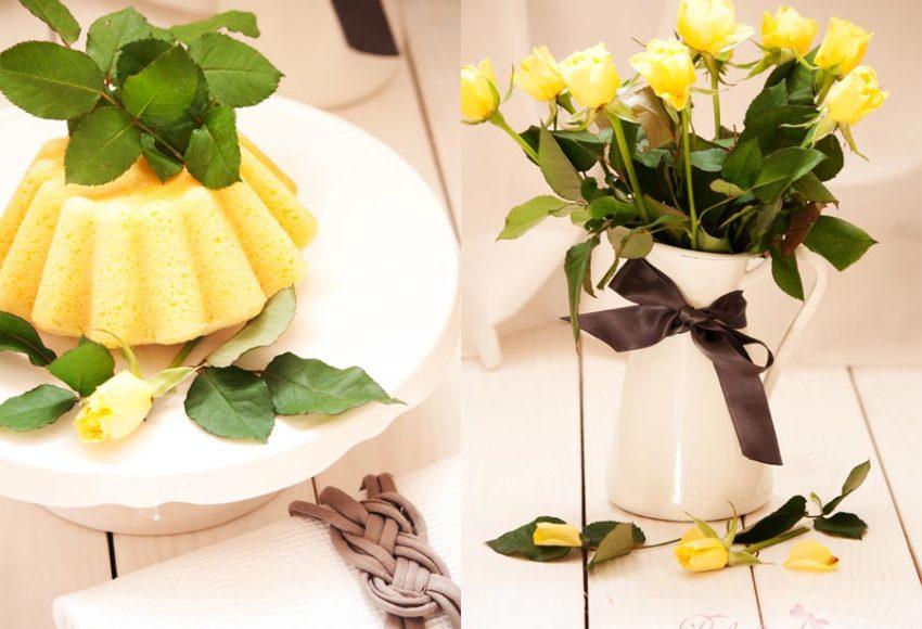 Hugo-Zitronen-Kuchen