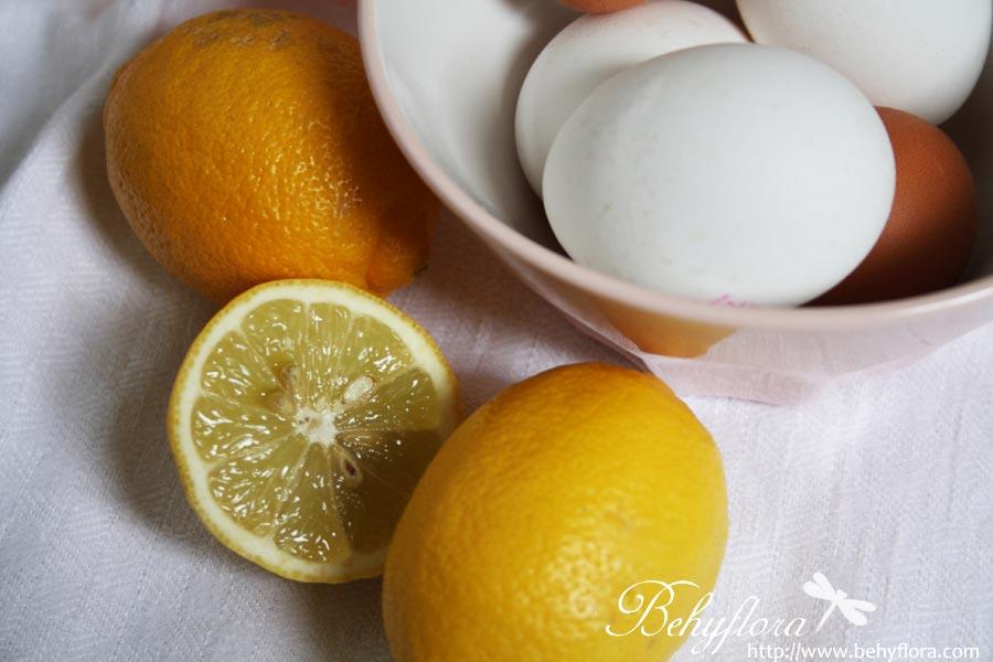 Eier für den Lemon Curd