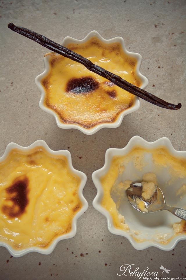 zu lecker: Gebackener Vanillepudding