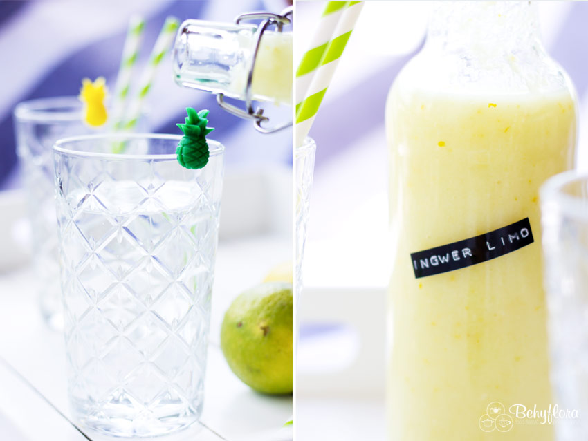 Ingwer-Limonade